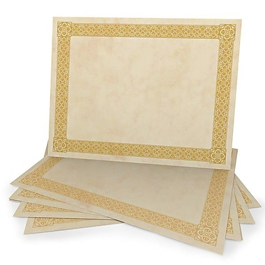 greatpapers com templates - gold foil certificate paper borders