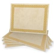 Gartner Studios Certificate, Gold Foil Parchment