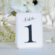 Gartner Studios Ornate Table Numbers 1-12