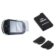 Insten® 249121 3-Piece Game Battery Bundle For Sony PSP Slim 2000/3000
