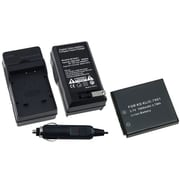 Insten® 250371 2-Piece DV Battery Bundle For Kodak KLIC-7001, EasyShare V550, V570