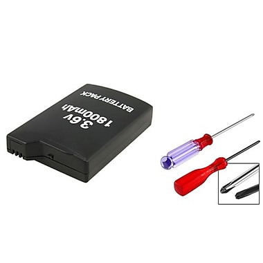 Insten® 252255 2-Piece Game Battery Bundle For Sony PSP 1000