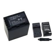 Insten® 255721 2-Piece DV Battery Bundle For Sony NP-FH100/NP-FH70/Sony NP-FP50/70/90/40/60/10