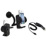 Insten® 263412 2-Piece Universal Car Charger Bundle For Samsung Galaxy Note 3