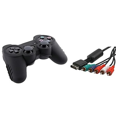 Insten® 274266 2-Piece Game Cable Bundle For Sony PS3 Controller