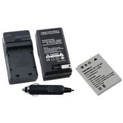 Insten® 275365 2-Piece DV Battery Bundle For Coolpix S1/S2/S5/S6/P1/P2/Nikon EN-EL8