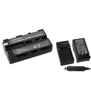 Insten® 275568 2-Piece DV Battery Bundle For Sony NP-F550/NP-F330/NP-F750/Sony NP-FM30