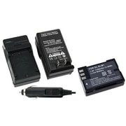 Insten® 275964 2-Piece DV Battery Bundle For Olympus BLM-1/BLL-1/EVOLT E-510/E-330