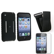 Insten® 282124 3-Piece iPhone Armband Bundle For Apple iPhone 3G/3GS/Cell Phone/MP3 Player