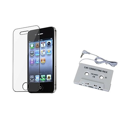 Insten® 288491 2-Piece iPhone Adapter Bundle For Apple iPhone 4/4S