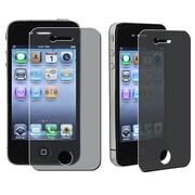 Insten® 310970 3-Piece iPhone Screen Protector Bundle For iPhone 4/4S