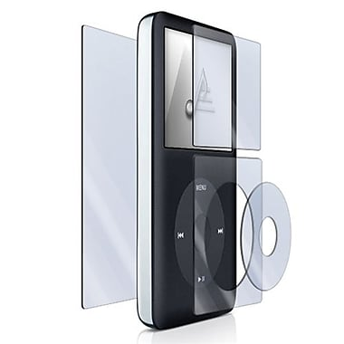 Insten® 313964 3-Piece MP3 Screen Protector Bundle For Apple iPod Classic 120GB/160GB/80GB