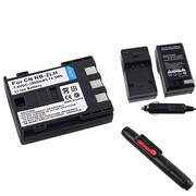 Insten® 313984 3-Piece DV Battery Bundle For Rebel XT/XTi/Canon NB-2L/BP-2L12/BP-2L14