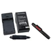 Insten® 313988 2-Piece DV Battery Charger Bundle For Canon LP-E5