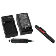 Insten® 314006 2-Piece DV Battery Charger Bundle For Sony NP-FM30/NP-FM50/NP-FM70