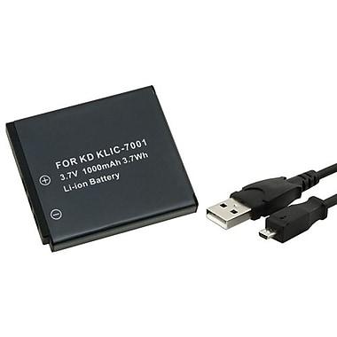 Insten® 314727 3-Piece DV Battery Bundle For EasyShare V550/V570/Kodak U-8
