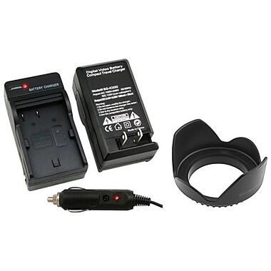 Insten® 314911 2-Piece DV Battery Charger Bundle For Canon BP-508/BP-511/BP-511A/BP-512/BP-514