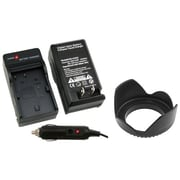 Insten® 314911 2-Piece DV Battery Charger Bundle For Canon BP-508/BP-511/BP-511A/BP-512/BP-514