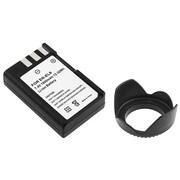 Insten® 314914 2-Piece DV Battery Bundle For Nikon D40/D40x/58mm Lens and Filters