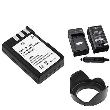 Insten® 314917 3-Piece DV Battery Bundle For D40/D40x/Nikon EN-EL9/58mm Lens/Filters
