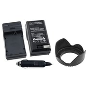 Insten® 314921 2-Piece DV Battery Charger Bundle For Canon LP-E5