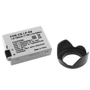 Insten® 314942 3-Piece DV Battery Bundle For EOS Rebel T2i