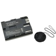Insten® 314947 3-Piece DV Battery Bundle For Canon BP-511/58 mm Filters/Adapters/Lens
