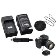 Insten® 314990 3-Piece DV Cap Bundle For Nikon EN-EL9/EN-EL9A Batteries