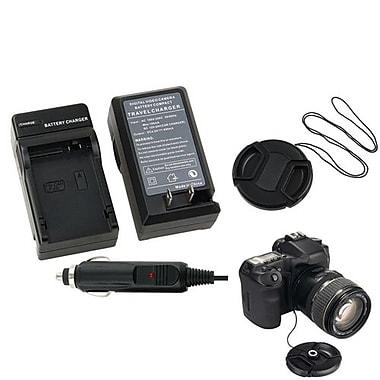 Insten® 315017 3-Piece DV Cap Bundle For Canon LP-E8