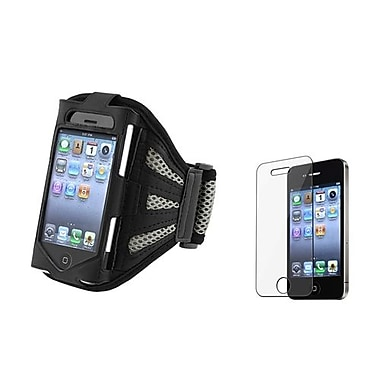 Insten® 344788 3-Piece iPhone Armband Bundle For Apple iPhone 4/4S/3G/3GS/iPod Touch