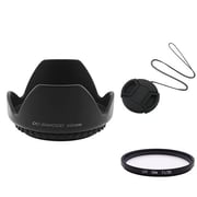Insten® 345014 3-Piece DV Cap Bundle For 52 mm Lens and Filters