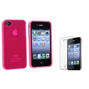 Insten® 351378 2-Piece iPhone Screen Protector Bundle For iPhone 4/4S