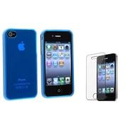 Insten® 351381 2-Piece iPhone Screen Protector Bundle For iPhone 4/4S
