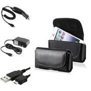 Insten® 352147 4-Piece Car Charger Bundle For Samsung Galaxy Note 3/BlackBerry/LG/Motorola