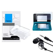 Insten® 352577 3-Piece Game Case Bundle For Nintendo 3DS