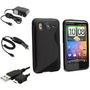 Insten® 352605 4-Piece Car Charger Bundle For Samsung Galaxy Note 3/HTC Desire HD/BlackBerry/LG