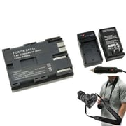 Insten® 352873 4-Piece DV Battery Bundle For Canon BP-511/Canon BP-511/SLR/DSLR Camera