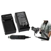 Insten® 352886 2-Piece DV Battery Charger Bundle For Sony NP-FM30/NP-FM50/NP-FM70/NP-FM90