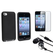 Insten® 353768 3-Piece MP3 Headset Bundle For Apple iPod Touch 4th Gen
