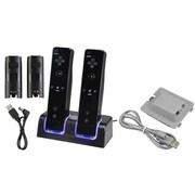 Insten® 359173 2-Piece Game Battery Bundle For Wii/Nintendo Wii Fit