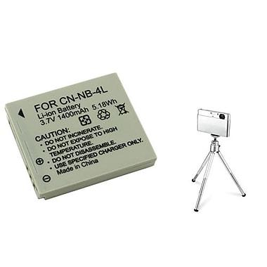 Insten® 361157 2-Piece DV Battery Bundle For PowerShot SD630/SD750