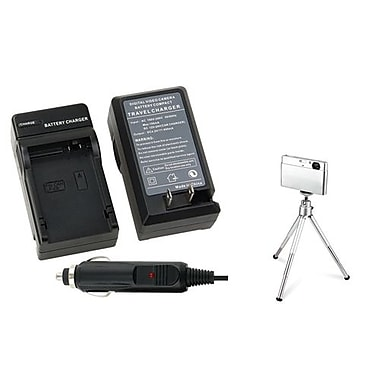 Insten® 361182 2-Piece DV Battery Charger Bundle For Canon LP-E8
