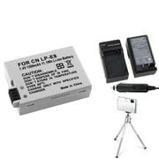 Insten® 361183 3-Piece DV Battery Bundle For EOS Rebel T2i/Canon LP-E8