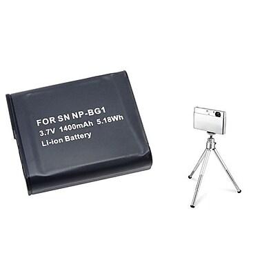 Insten® 361185 2-Piece DV Battery Bundle For Sony CyberShot NP-BG1/DSC-N1/DSC-T100