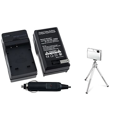 Insten® 361187 2-Piece DV Battery Charger Bundle For Sony NP-BG1