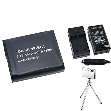 Insten® 361189 4-Piece DV Battery Bundle For Sony NP-BG1/Cyber-Shot DSC-N1/DSC-T100