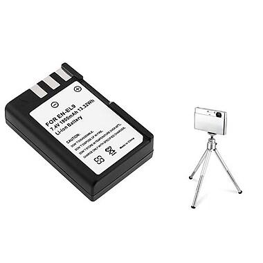 Insten® 361195 2-Piece DV Battery Bundle For Nikon D40/D40x