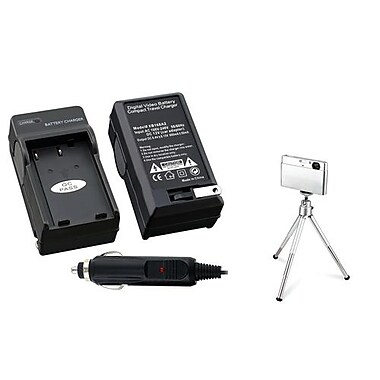 Insten® 361197 2-Piece DV Battery Charger Bundle For Nikon EN-EL9
