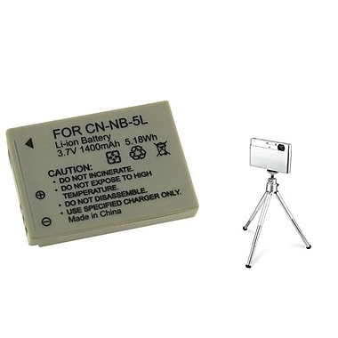Insten® 361211 3-Piece DV Battery Bundle For PowerShot SD700/SD850