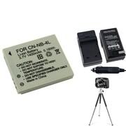 Insten® 361223 3-Piece DV Battery Bundle For PowerShot SD630/SD750/Canon NB-4L